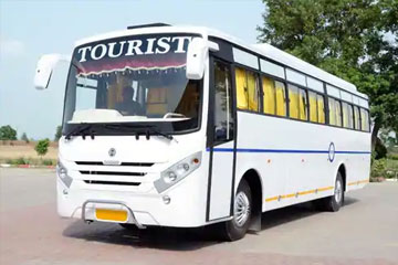 Bus Rentals in Amrisar, Volvo and Deluxe Buses